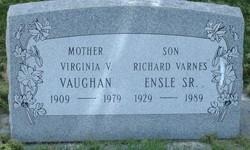Virginia A <I>Varnes</I> Vaughn