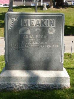 Anna Birkenshaw <I>Peck</I> Meakin