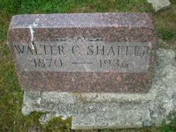 Walter C Shaffer