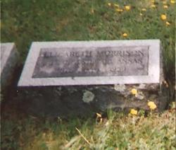 Elizabeth <I>Morrison</I> Annan