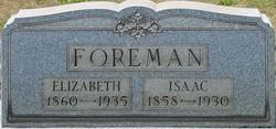 Elizabeth <I>Bixler</I> Foreman
