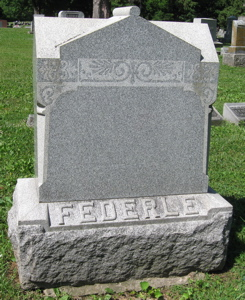 "Carolina ""Carrie"" <I>Huber</I> Federle"