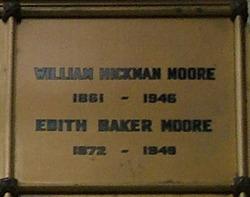Edith <I>Baker</I> Moore