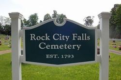 Rock City Falls Cemetery
