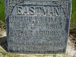 Emma Athalinda <I>Twombly</I> Eastman