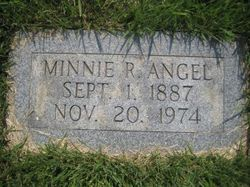 Minnie Carrie <I>Rumley</I> Angel