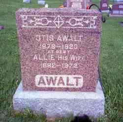 Allie <I>Foster</I> Awalt