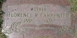 Florence R. <I>Hughes</I> Carpenter