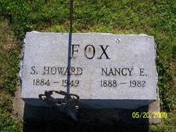 Nancy Elizabeth <I>Wells</I> Fox