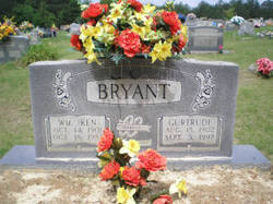 Agnes Gurtrude <I>Burden</I> Bryant