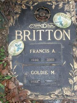 Goldie M Britton