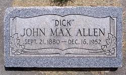"""John Max """"Dick"""" Allen"""