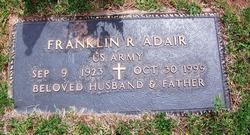 Franklin R. Adair, Sr.