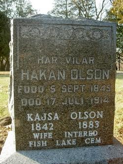 Hakan / Hokan <I>Olasson</I> Olson