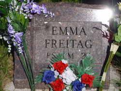 Emma Elsie <I>Jobe</I> Freitag