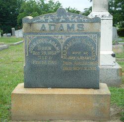 Margaret Catherine <I>Jenkins</I> Adams