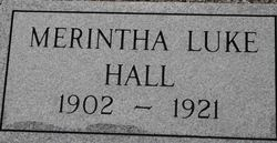Merintha <I>Luke</I> Hall