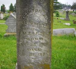 Clinton A. Daugherty Best