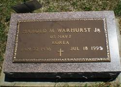 "Harold Malcolm ""Max"" Warhurst, Jr"