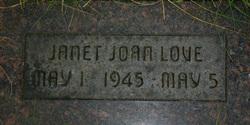 Janet Joan Love