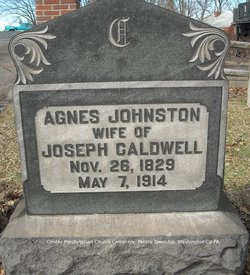 Agnes <I>Johnston</I> Caldwell