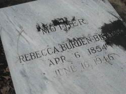 Rebecca <I>Burden</I> Bishop