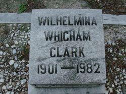 Wilhelmina <I>Whigham</I> Clark