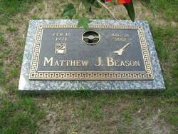 """Matthew James """"Matt"""" Beason"""
