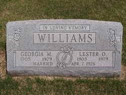 Georgia Mae <I>Patton</I> Williams