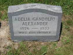 Adelia <I>Gandolfo</I> Alexander