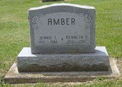 """Genane Louise """"Jennie"""" <I>Cassaday</I> Amber"""