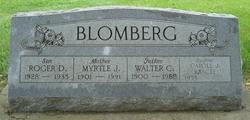 Myrtle Jeanette <I>Bull</I> Blomberg