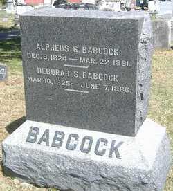 Deborah S. <I>Durfee</I> Babcock