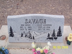 Don Henry Savage
