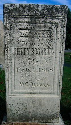 Mary <I>Badgley</I> Bogardus