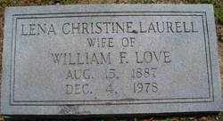 Lena Christine <I>Laurell</I> Love