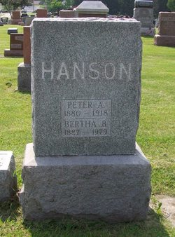 Bertha B <I>Castleman-Hanson</I> Bailey