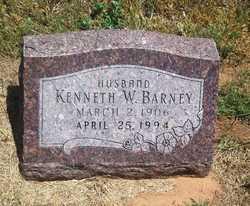Kenneth W Barney