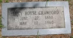 Lucy <I>Royse</I> Crawford