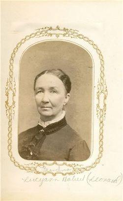Lucy Ann Caroline <I>Hobart</I> Leonard