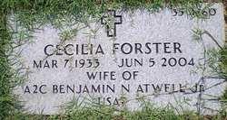 Cecilia <I>Forster</I> Atwell