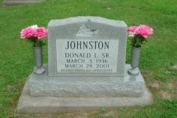 Sgt Donald LaVergene Johnston, Sr