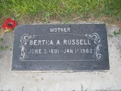 Bertha Althera <I>Bectell</I> Russell
