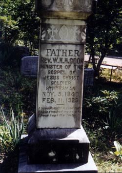 Rev William Henry Harrison Cook