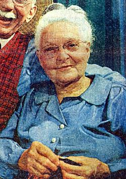 "Neva Greevi ""Aunt Sap"" Brasfield"