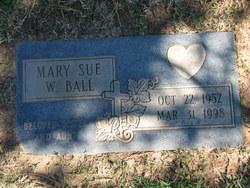 Mary Sue <I>Womack</I> Ball