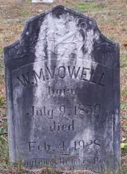 William M Vowell