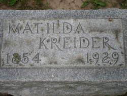 Matilda <I>Hankee</I> Kreider