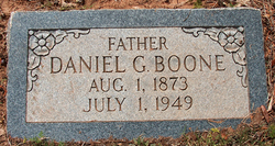 Daniel Green Boone