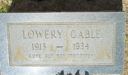 Lowery W. Gable